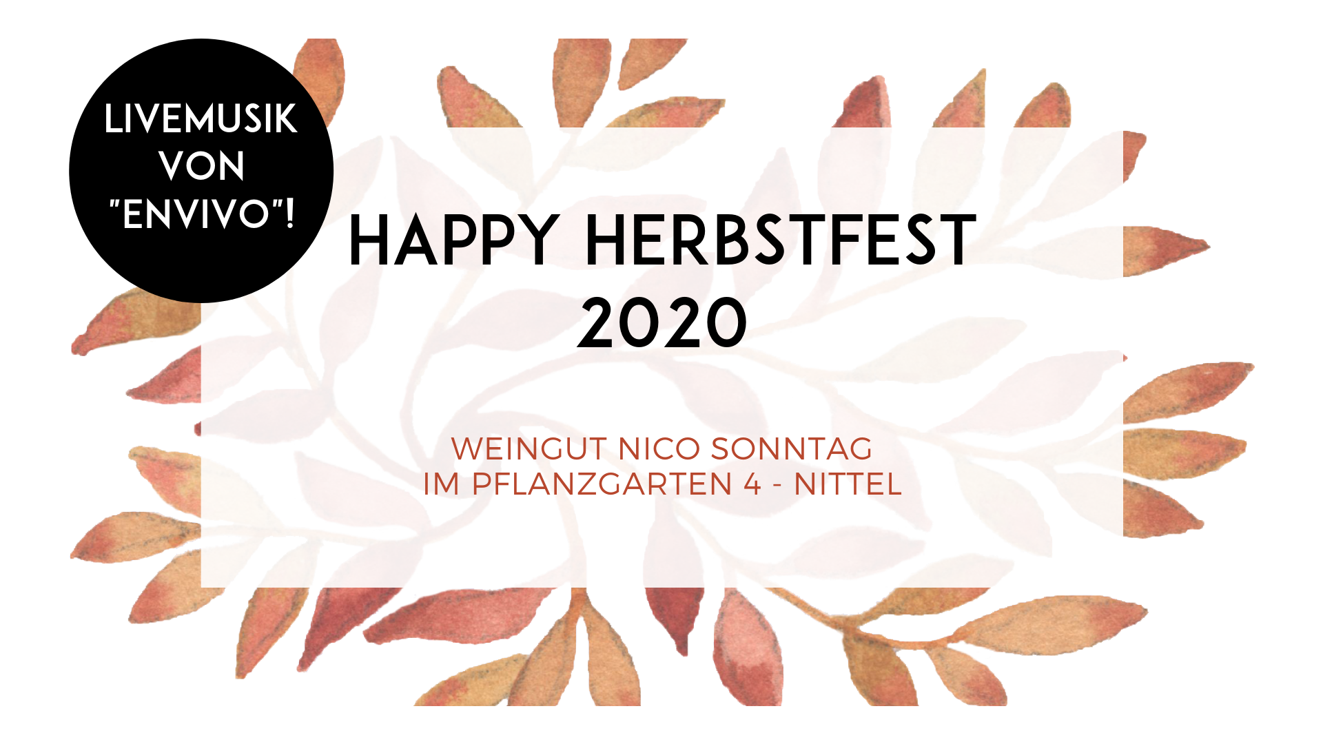 HAPPY HERBSTFEST 2020