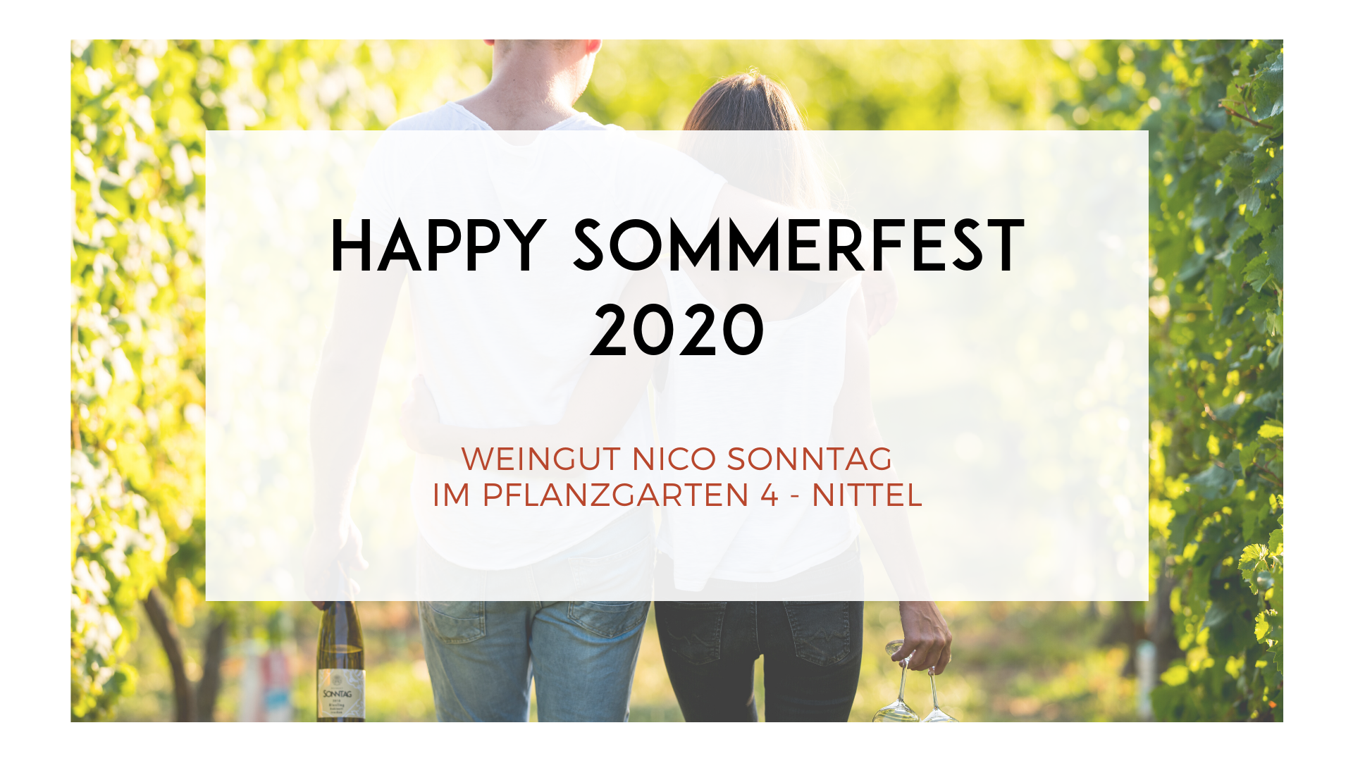 HAPPY SOMMERFEST 2020