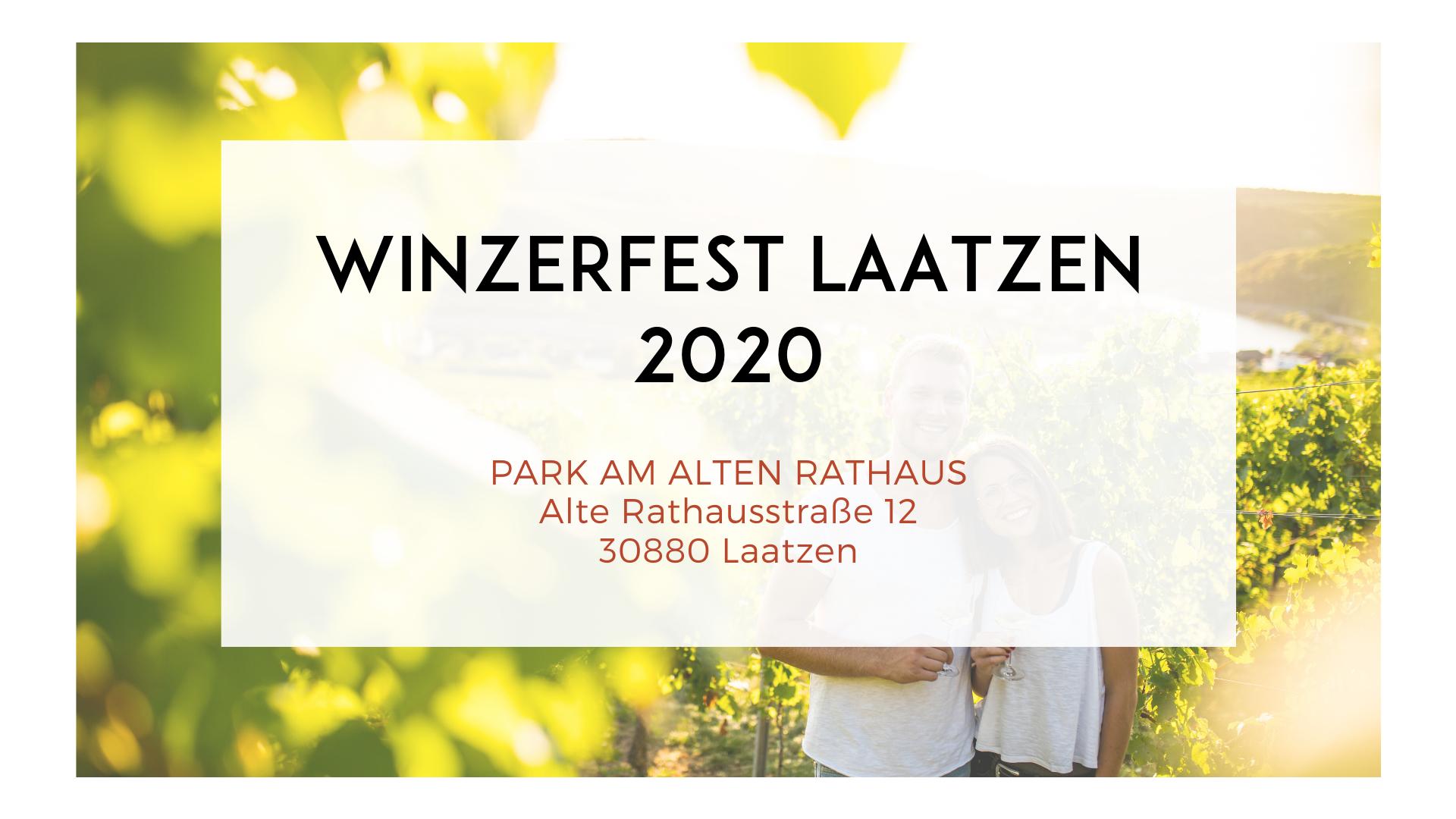 WINZERFEST LAATZEN 2020